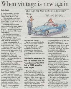 Australian Financial Review Article 22Jul2011