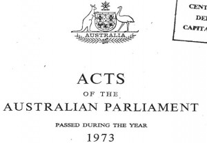 Australian Parliament 1973