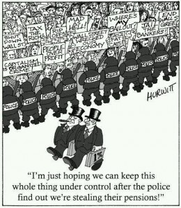 Banksters Stealing Police State Pensions