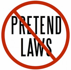 Pretend Laws mini